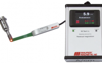 Pour détecter rapidement et efficacement le magnétisme résiduel inférieur à 2 A/cm