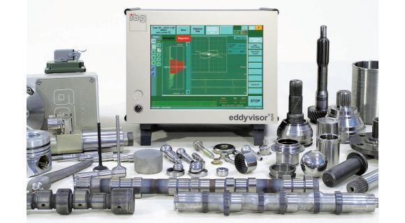 Eddyvisor avec exemples de composants pour contrôle fissure